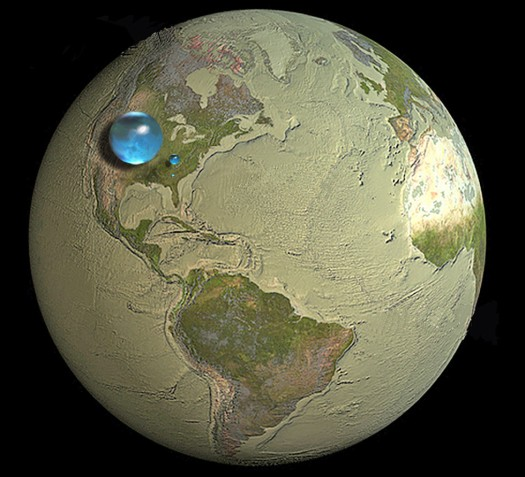 Global Freshwater Volume_USGS