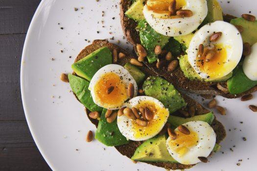 Eggs Avocado Bread_Pexels 566566