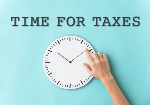 Time For Taxes Reminder Concept